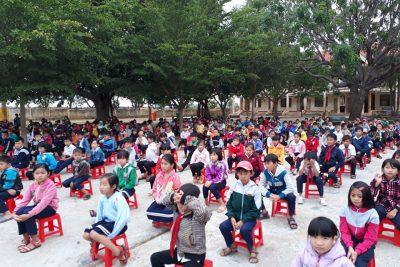 Buổi tuyên truyền Phòng chống một số tai nạn thương tích và Đuối nước tại trường TH La Văn Cầu